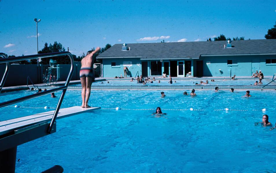 Swimming Pool Sink : Sink or swim the history of bogert pool