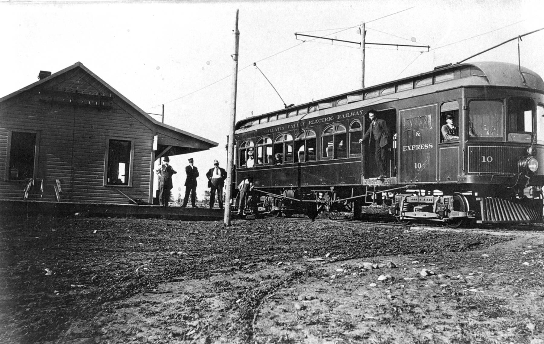Trolley Car: Bozeman's Historic Trolley Car System