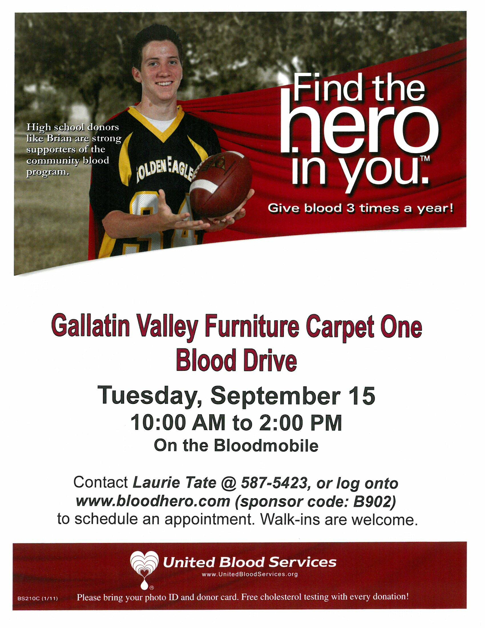Find The Hero In You Gallatin Valley Furniture Carpet One
