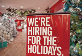 Hiring for holidays