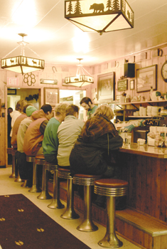The Western Cafe Then And Now Always The Last Best Cafe